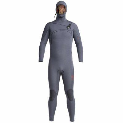Comp-X-Hooded-Wetsuit-Gunmetal