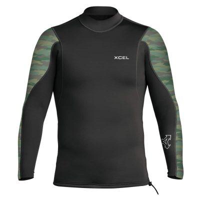 Long-Sleeve-Wetsuit-Top-Camo