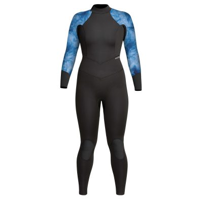 Womens-Axis-Back-Zip-Wetsuit-Blue