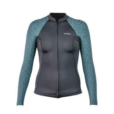 Womens-Axis-Front-Zip-Wetsuit-Top-Flower-(1)
