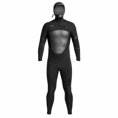 Axis-X-Hooded-Wetsuit-Black