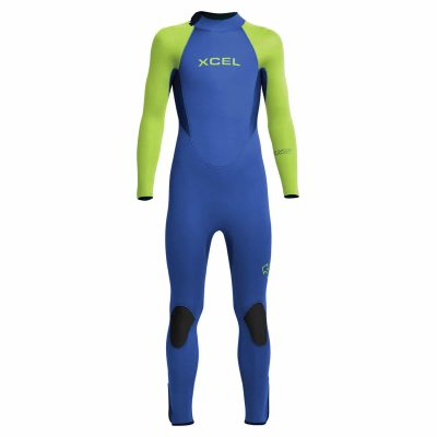Kids-Axis-Back-Zip-Wetsuit-Blue-Lime
