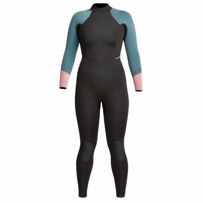 Womens-Axis-Back-Zip-Wetsuit-Mesa-Rose