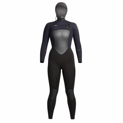 Womens-Infiniti-Hooded-Wetsuit-Black
